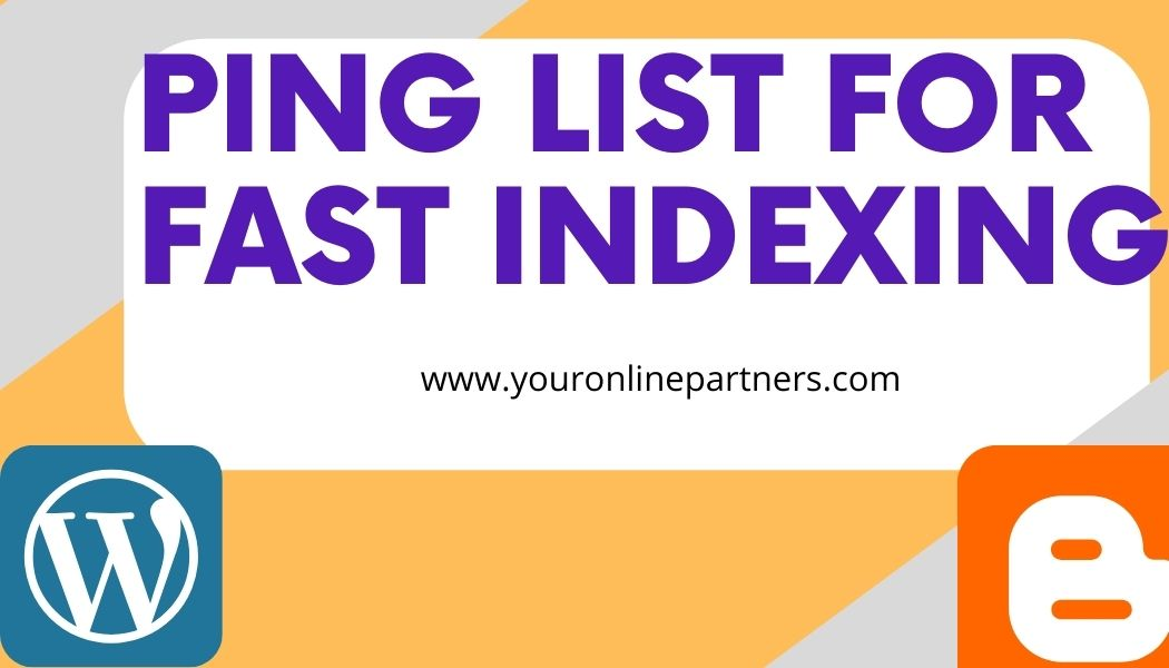 ping list for fast indexing